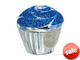 Zable™ Sterling Silver Cup Cake Bead / Charm style: BZ2236