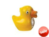 Zable™ Sterling Silver Rubber Duckie Bead / Charm style: BZ2255