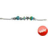 Zable™ Sterling Silver Sealife Theme Bracelet with 7 Beads style: BZB400
