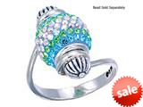 Zable™ Sterling Silver Bead Ring for single Bead (not included) style: BZB70