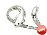 Finejewelers Sterling Silver Toe Ring Bypass Snake style: CGSS304