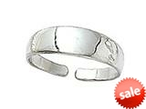 Finejewelers Sterling Silver  Toe Ring Polished style: CGSS311