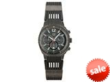 "Andrew Marc Men""s Heritage Scuba Gunmetal Case With Grey Strap Chronograph Watch style: A11202TP"