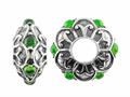 Storywheel® Chrome Diopside Bead / Charm