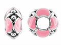 Storywheel® Pink Enamel Bead / Charm