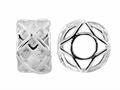 Storywheel® Textured Finish Squares Bead / Charm