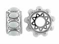 Storywheel® White Agate Bead / Charm