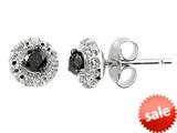 Rough Diamond Studs Earrings style: E7014DBLK