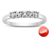 Finejewelers 2.5mm White Topaz Band / Ring style: R10049WT