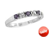 2.5mm Amethyst Band / Ring style: R8016ACD