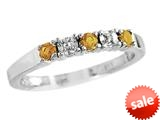 2.5mm Citrine Band / Ring style: R8016CCD