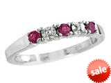 Finejewelers 2.5mm Created Ruby Band / Ring style: R8016CRR
