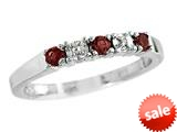 Finejewelers 2.5mm Garnet Band / Ring style: R8016G