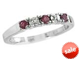 Finejewelers 2.5mm Rhodolite Band / Ring style: R8016RH