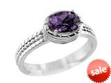 7x5mm Amethyst Ring style: R8282A