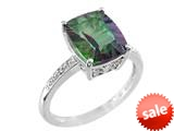 Finejewelers 11x9mm Solitaire Antique Shaped Mystic Topaz Ring style: R8708QUMT
