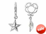 Storywheel® Star Dangle Bead / Charm style: W172