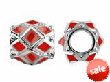 Storywheel® Red Enamel Bead / Charm style: W408RED