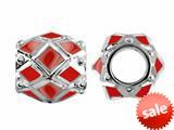 Storywheel® Red Enamel Bead / Charm style: W408RED