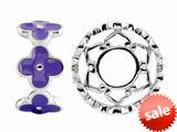 Storywheel® Purple Enamel Bead / Charm style: W425PUR