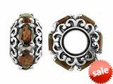 Storywheel® Garnet Bead / Charm style: W482G