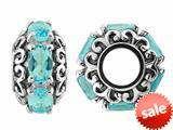 Storywheel® Swi Blue Bead / Charm style: W482SW