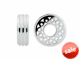 Storywheel® Textured Finish Circles Bead / Charm style: W539