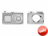 Storywheel® White Enamel iPod Bead / Charm style: W634