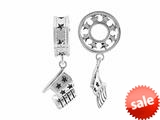 Storywheel® Flag Dangle Bead / Charm style: W640