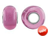 Storywheel® Hot Pink Glass Bead / Charm style: W647HTPNK