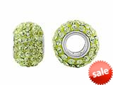 Storywheel® Light Yellow Crystal Bead / Charm style: W657YEL