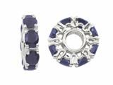 Storywheel® Sapphire Birth Month Bead / Charm style: W350S