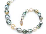Baroque South Sea Pearls Necklace style: 42021