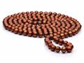 60 inch Chocolate Fresh Water Cultured Pearl (dyed) Rope 7-8 mm each