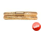Endless Jewelry - Jennifer Lopez Collection Golden Reptile, 40cm/8.0inch Double Leather Bracelet Finish style: 105140