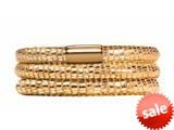 Endless Jewelry - Jennifer Lopez Collection Golden Reptile, 54cm/7.0inch Triple Leather Bracelet Finish style: 105154