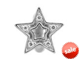 Endless Jewelry - Jennifer Lopez Collection Shiny Star Silver White Cubic Zirconia Silver Finish style: 1175