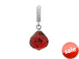 Endless Jewelry - Jennifer Lopez Collection Ruby Mysterious Drop Silver Ruby Crystal Silver Finish style: 13013