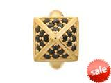 Endless Jewelry - Jennifer Lopez Collection Black Shiny High Rise Black Cubic Zirconia Gold Finish style: 16501