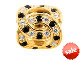 Endless Jewelry - Jennifer Lopez Collection Double Love White And Black Cubic Zirconia Gold Finish style: 1675