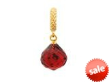 Endless Jewelry - Jennifer Lopez Collection Ruby Mysterious Drop Ruby Crystal Gold Finish style: 18013