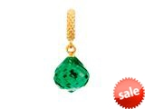 Endless Jewelry - Jennifer Lopez Collection Emerald Mysterious Drop Emerald Crystal Gold Finish style: 18015