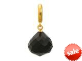 Endless Jewelry - Jennifer Lopez Collection Black Love Drop Black Crystal Gold Finish style: 18502