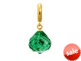 Endless Jewelry - Jennifer Lopez Collection Emerald Love Drop Emerald Crystal Gold Finish style: 18505