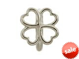 Endless Jewelry Four Leaf Clover Silver Rhodium Silver Finish style: 41104