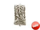 Endless Jewelry Indian Feather Silver Rhodium Silver Finish style: 41206