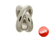 Endless Jewelry Double Ring Silver Rhodium Silver Finish style: 41210