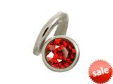 Endless Jewelry Garnet Snake Silver Garnet Cubic Zirconia Rhodium Silver Finish style: 412545