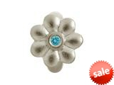 Endless Jewelry Blue Flower Dream Silver Blue Cubic Zirconia Rhodium Silver Finish style: 412563