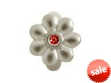Endless Jewelry Garnet Flower Dream Silver Garnet Cubic Zirconia Rhodium Silver Finish style: 412565